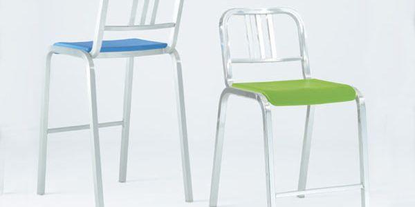 Авторские стулья и кресла из алюминия — Emeco