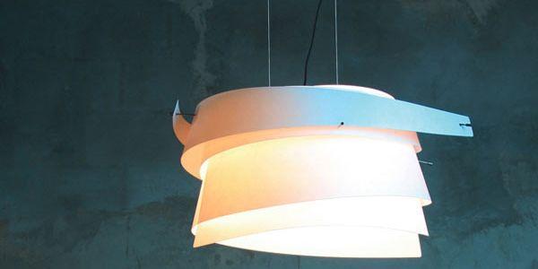 Футуристические формы светильников Fambuena