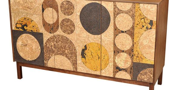 Пробковая инкрустация мебели Iannone Design