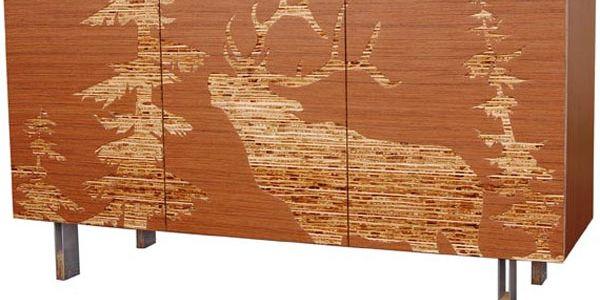 Орех на дубе — мебель Iannone Design