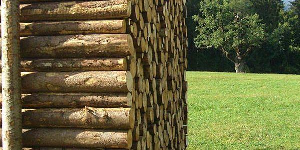 Маскировка дома под дрова