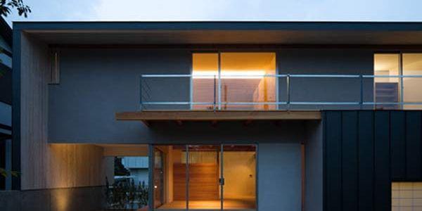 Современный бюджетный японский дом