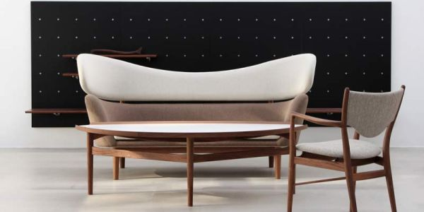Преемственность свободного дизайна мебели — Baker Sofa