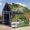 Съедобная концепция садовых домиков Eathouse в Роттердаме