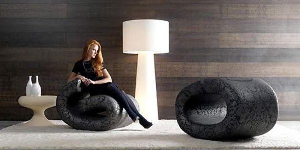 Мебель, похожая на клипсы — Eklipse Lounge Chair