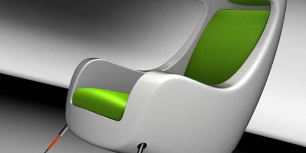Мультимедийное концептуальное кресло от Martin Emila