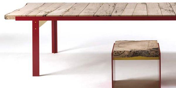 Мебель из le Briccole на Венецианском биеннале 2010