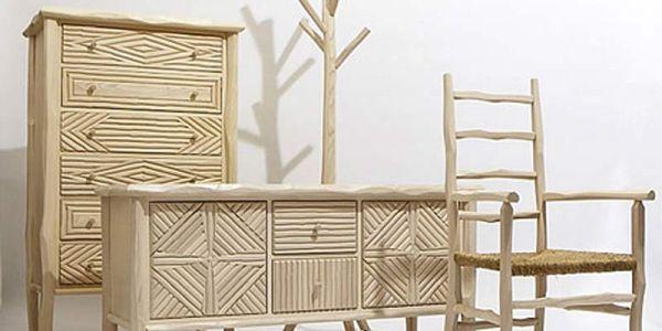 Простая деревенская американская мебель — Great Camp Collection
