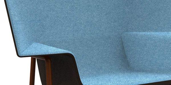 Не стесняющее крупную фигуру кресло Capo
