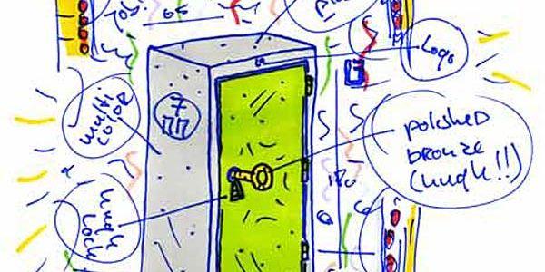 Офисные шкафы от Job Cabinet с «золотыми ключиками»