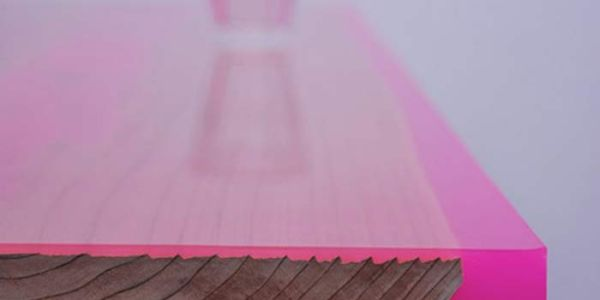 Мебель из флуоресцентной смолы Shrine Flat-table