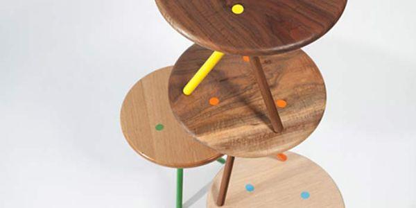 Все краски лета в столиках Soft side tables