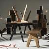 Серия мебели из дуба Slab