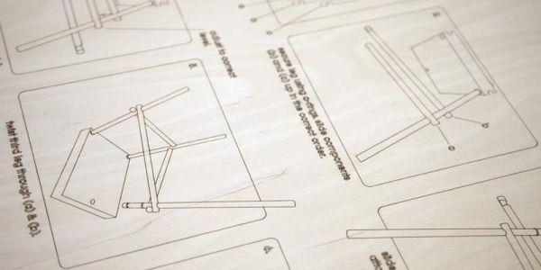 Конструктор для мебели Poles Apart