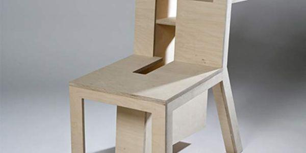Супрематический стул Burden Chair