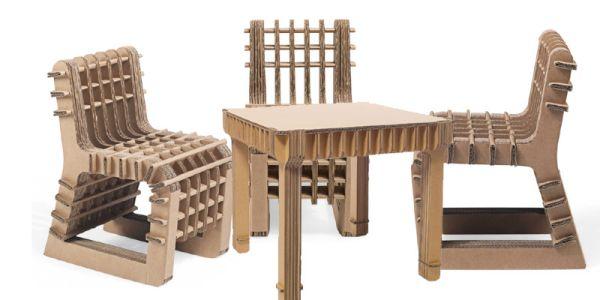 Детская мебель из картона Build Up