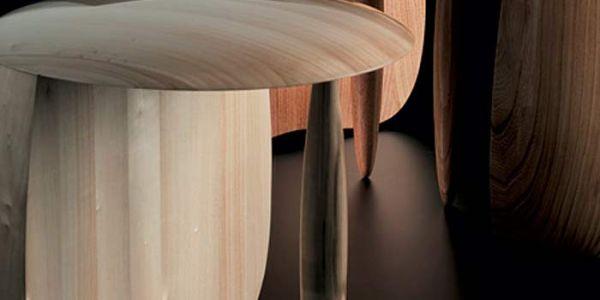 Стулья-грибы дизайнера Aldo Bakker
