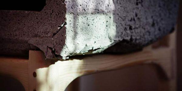 Мебель из строительных смесей Unpølished