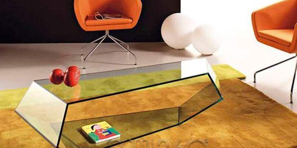 Мебель для красоты: современные итальянские столики из стекла