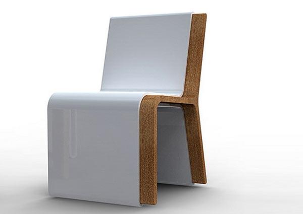 Два стула в одном: Silla Guarda.