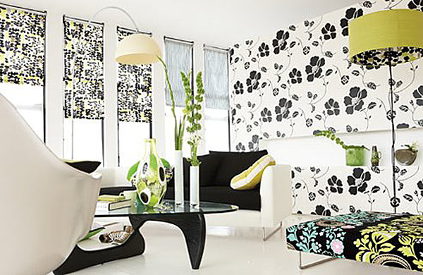 Цветы в решении дизайна гостиной