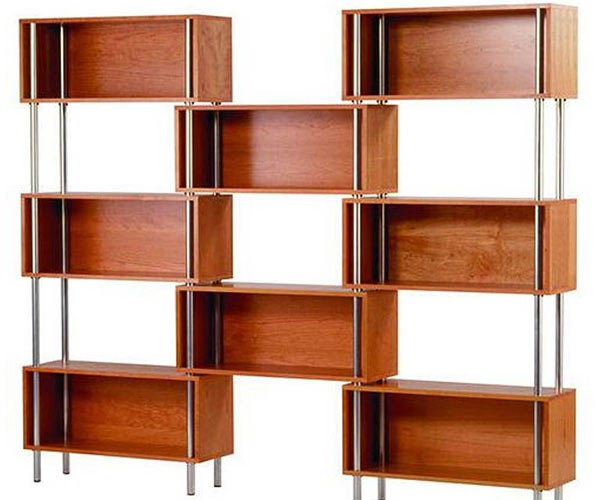 Конструкция из полок Blu Dot — Chicago 8 Box Shelving Unit