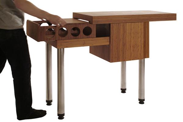 Стол-секретер — Brave Space — Bamboo Slide