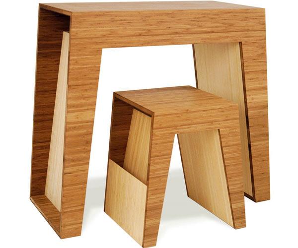 Многофункциональные индивидуальные столики — Brave Space — Hollow Utility Table & Hollow End Table