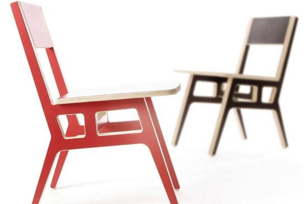Стулья для взрослого кафе Context Furniture — Truss Cafe Chair
