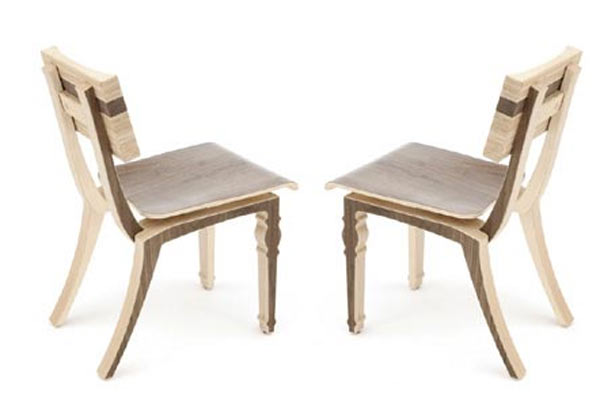 Стулья для кафе Context Furniture — William & Mary Harbor Cafe Chair