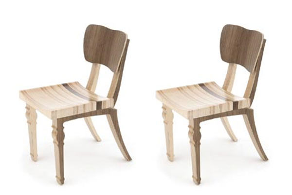 Стулья для кафе Context Furniture — William & Mary Market Cafe Chair
