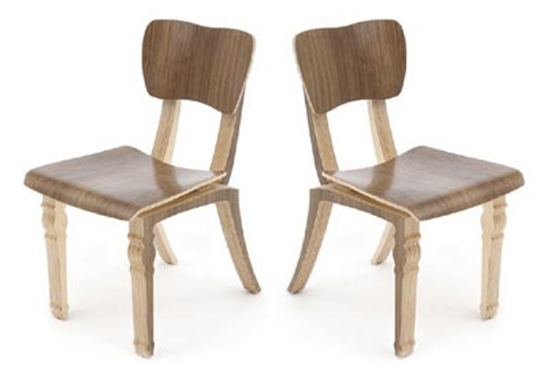 Стулья для кафе Context Furniture — William & Mary Boheme Cafe Chair