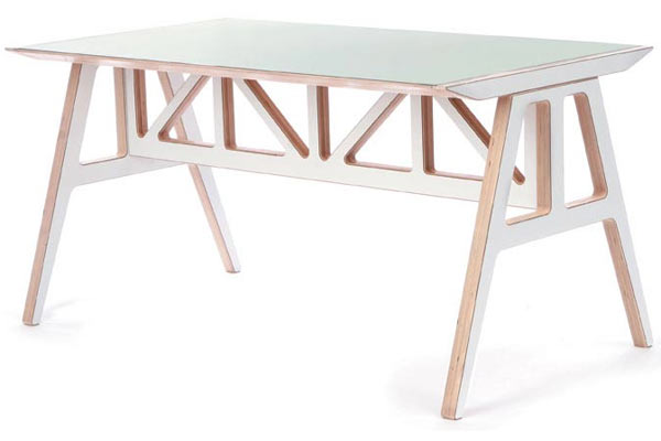 Стол Context Furniture — Truss A-Frame Table