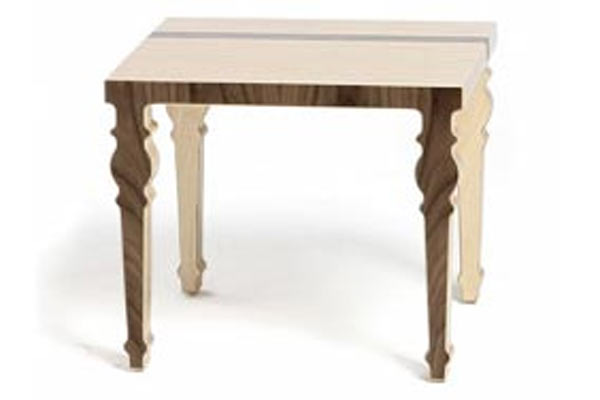 Стол Context Furniture — William & Mary End Table