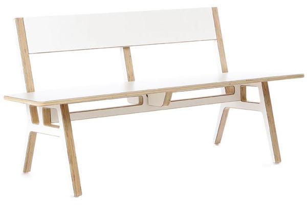 Скамейка Context Furniture — Truss Museum Bench