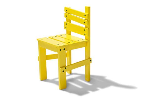 Настоящая детская мебель от Jesper K. Thomsen