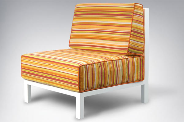 ducduc — cabana Lounge Chair — F3 Fabric