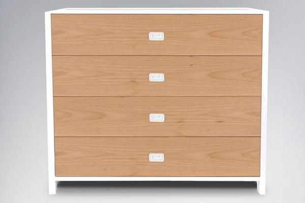 Комод ducduc — campaign 4 Drawer Dresser
