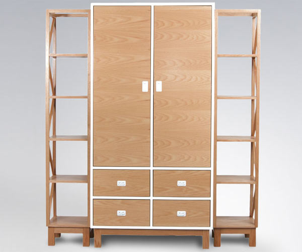 Шкаф со стеллажами ducduc — campaign Armoire With Shelves