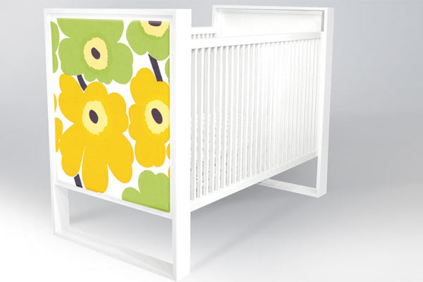 Кровать ducduc — parker Crib — Uncovered Panel