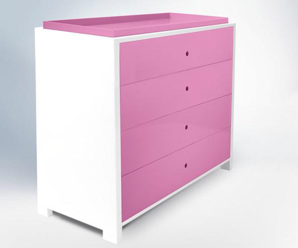 Комод-пеленальный стол ducduc — parker 4 Drawer Dresser