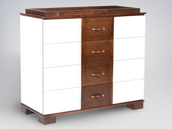 Пеленальный стол-комод ducduc — morgan 4 Drawer Changing Table