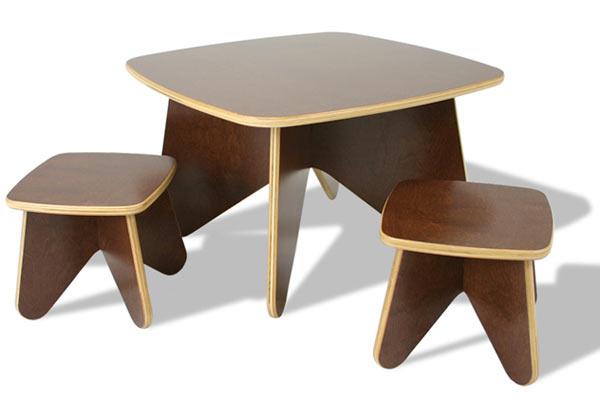 Стол и табуреты Ecotots — Project Table