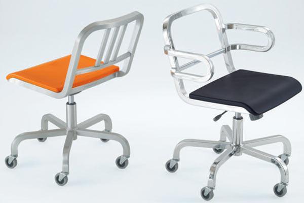 Офисные кресла Emeco — Nine-0 Swivel Chair