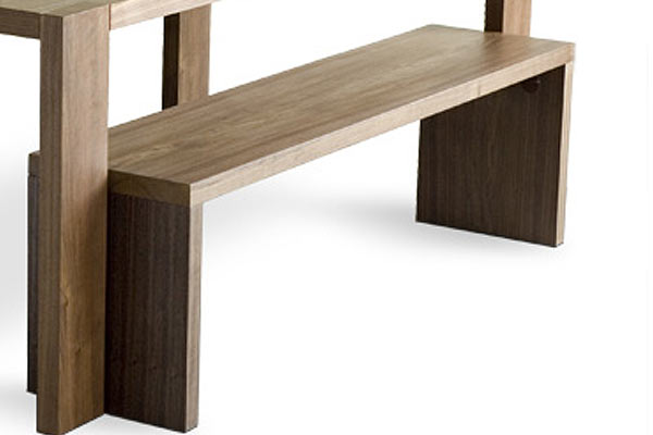 Скамейка Gus* — Plank Dining Bench