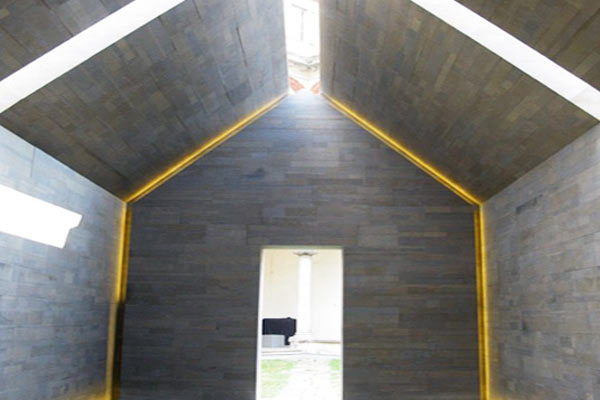 Дом из переработанного гранита
