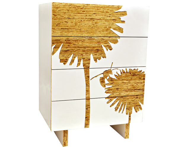 Комод Iannone Design — Dandelion Tall Graphic Dresser
