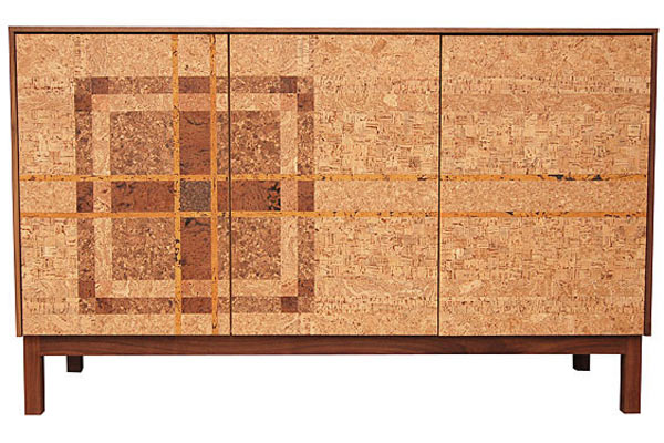 Буфет Iannone Design — Cork Plaid Mosaic Sideboard