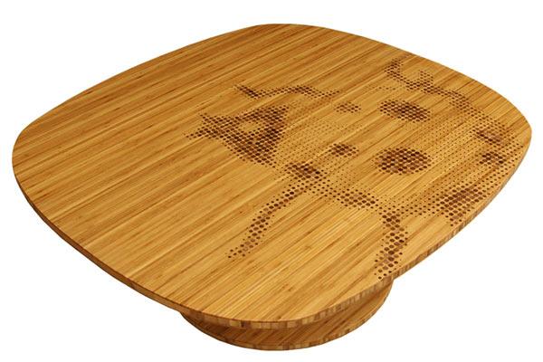 Кофейный столик Iannone Design — Halftone Coffee Table