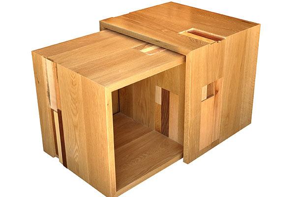 Тумба-слайдер Iannone Design — Scrappers Nesting Tables